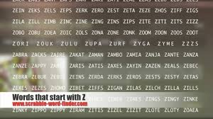 words that start with z youtube 4 letter words beginning with z 1280 x 720