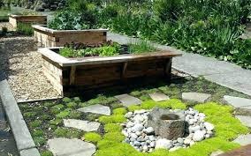 boxed garden ideas brick elevated garden beds boxed vegetable garden