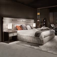 luxury bedroom furniture purple elements. Luxury Italian Bed With Large Nubuck Leather Headboard Bedroom Furniture Purple Elements T