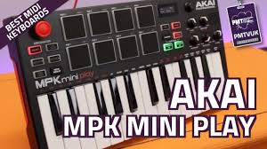 Akai MPK <b>Mini</b> Play <b>MIDI Controller Keyboard</b> (With Onboard ...