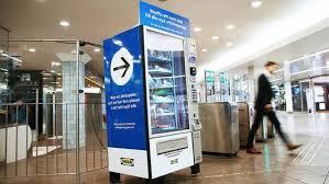 Breathalyzer Vending Machine Business Plan Best Ikea Vende Utensilios De Cocina En Una Máquina De Vending Curación