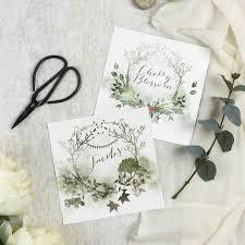 table names wedding. Woodland Wedding Table Names
