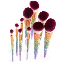 preview with zoom makeup brushes storage solution