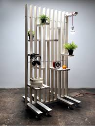 Design for less furniture Space Saving Less Movable But Having Vertical Timbers Divide The Room And Have Shelves Off It Less Movable But Having Vertical Timbers Divide The Room And Have