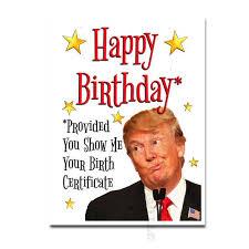 Office Birthday Donald Trump Birthday Card Funny Birthday Card Trump Etsy