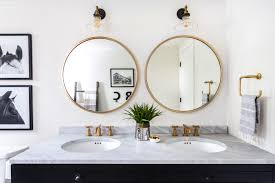 Image Small Fox Homes Bathroom Mirrors Are Going Full Circle Fox Homes