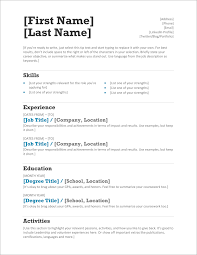 Where Can I Write A Resume For Free 45 Free Modern Resume Cv Templates Minimalist Simple