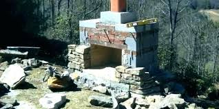 cost of outdoor fireplace cost to build outdoor fireplace how material stone fire much does it