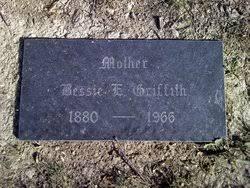 """Elizabeth E. """"Bessie"""" Knickerbocker Griffith (1880-1966) - Find A Grave  Memorial"""