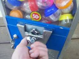 Gumball Machine Rings Vending Gorgeous Vintage 48 Cents Large Oak Vending Capsule Machine YouTube