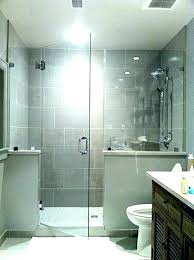 half wall shower with glass block pony cost