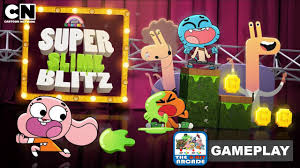 the amazing world of gumball super slime blitz first ant gumball cartoon network games