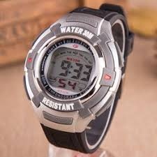 Korean version waterproof led watches men's fashion sports ... - Vova