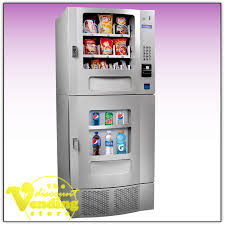 Soda Vending Machines Custom Seaga SM48 Combo Snack Soda Vending Machine For Sale