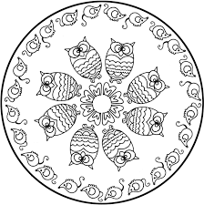 Many Free And Printable Mandala Coloring