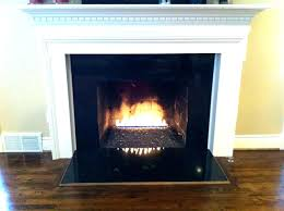 gas fireplaces vent free open units fireplace logs linear natural non vented fire