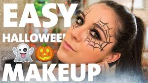 easy makeup tutorial spider web eyes kelsey farese you