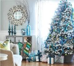 Decorating A Blue U0026 White Christmas Ideas U0026 InspirationBlue Christmas Tree Ideas