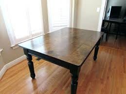 chalk paint kitchen table painting with refinishing wood top furniture laminate tops oak blue refi