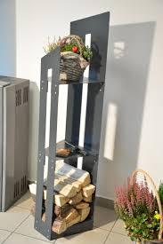 Suchen sie nach günstigem brennholz und kaminholz in bochum oder ganz nrw. Kaminholzregal Innen Moderne Kaminholzstander Aus Metall