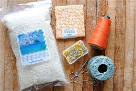 homemade heating pad with rice