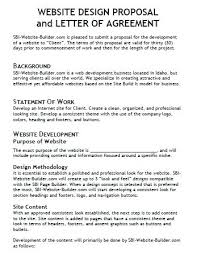 Website Design Proposal Template New Web Design Proposal Sample Template Web Design Proposal Sample