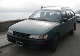 Toyota corolla station wagon 94