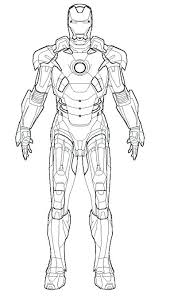 Coloring Pages Iron Man Coloring Printables Pages 3 Mark Superhero