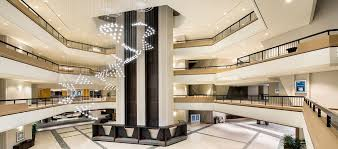 hilton atlanta hotel ga lobby atrium