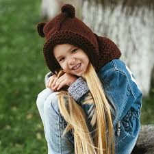 <b>шапка</b> капор худи капюшон вязаный спицами ребенку <b>мишка</b> ...