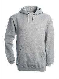 <b>Толстовка Hooded серый меланж</b>