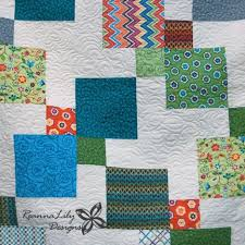 Disappearing 9-Patch with Layer Cakes & Disappearing 9-Patch Quilt   Longarm Quilting   Jen Eskridge   ReannaLily  Designs Adamdwight.com