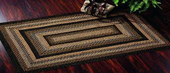 country style jute braided area rugs black forest primitive living room rug decor country style rugs braided