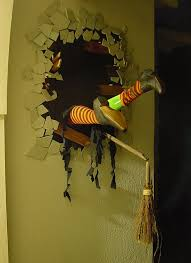 Crashin' the Party. Source: davelowe.blogspot.hu. This Halloween door  decoration ...