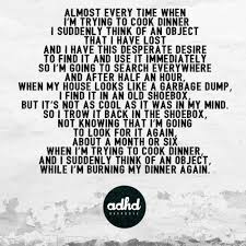 Adhd Quotes Adorable Quotes About Adhd Tumblr