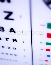 Opticians Ophthalmology And Optometry Stock Image