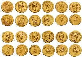 Twelve Caesars 12 Caesars In Gold A Set Of The Twelve Caesars In Gold In Flickr