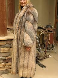 amazing red fox fur coat so beautiful