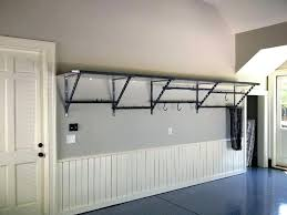 garage wall shelves wall shelves design mounted garage shelving plans the most for with regard to