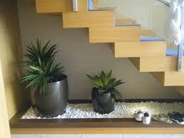Indoor Rock Garden Interior Adding Indoor Plants To Decorate Space Below The