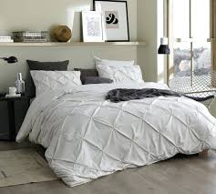 jet stream pin tuck twin duvet cover oversized extra long xl size