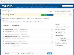 Project Management In Access Project Management For Web Designers Developers Whmcs