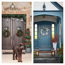 Superior Decoration Maison Porte Entree De Noel