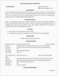 General Objective For Resume Unique Great Objectives For Resumes