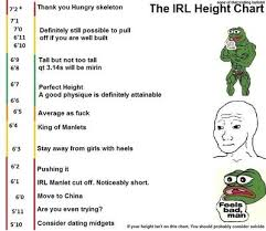 Accurate Height Chart Is This Dating Height Chart Accurate Girlsaskguys