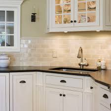 show me cabinets. Plain Cabinets Traditional Brick Wall Decor With Amazing Lamp Under Cupboards Kitchen  Black Countertops Also White To Show Me Cabinets Beraldolealcom