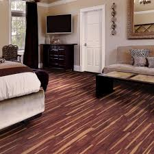 trafficmaster african wood dark 6 in x 36 in luxury vinyl plank flooring 24 sq ft case 57111 0 the home depot