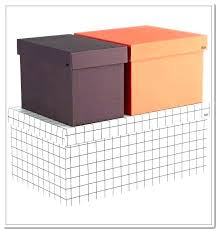 Large Decorative Cardboard Storage Boxes