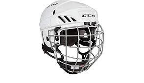 Amazon Com Ccm Fitlite 40 Hockey Helmet Combo Small