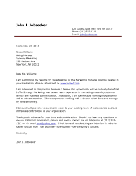Resume Cover Letter Examples Free For Engineering Job Application